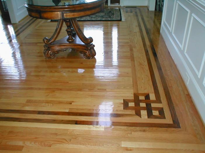 Hardwood Floors Border Designing Fox